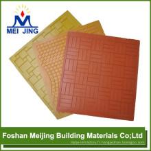 moule en plastique pour la matière première de construction de mosaïque de verre