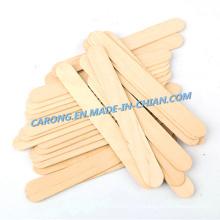 Depresor de lengua de madera estéril disponible médico de alta calidad