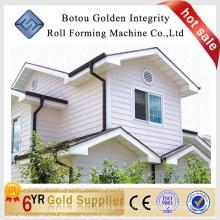 Botou Golden Integr haute qualité prix compétitif coude en aluminium downspout roll formant machine vers le bas bec machine de formage de rouleau
