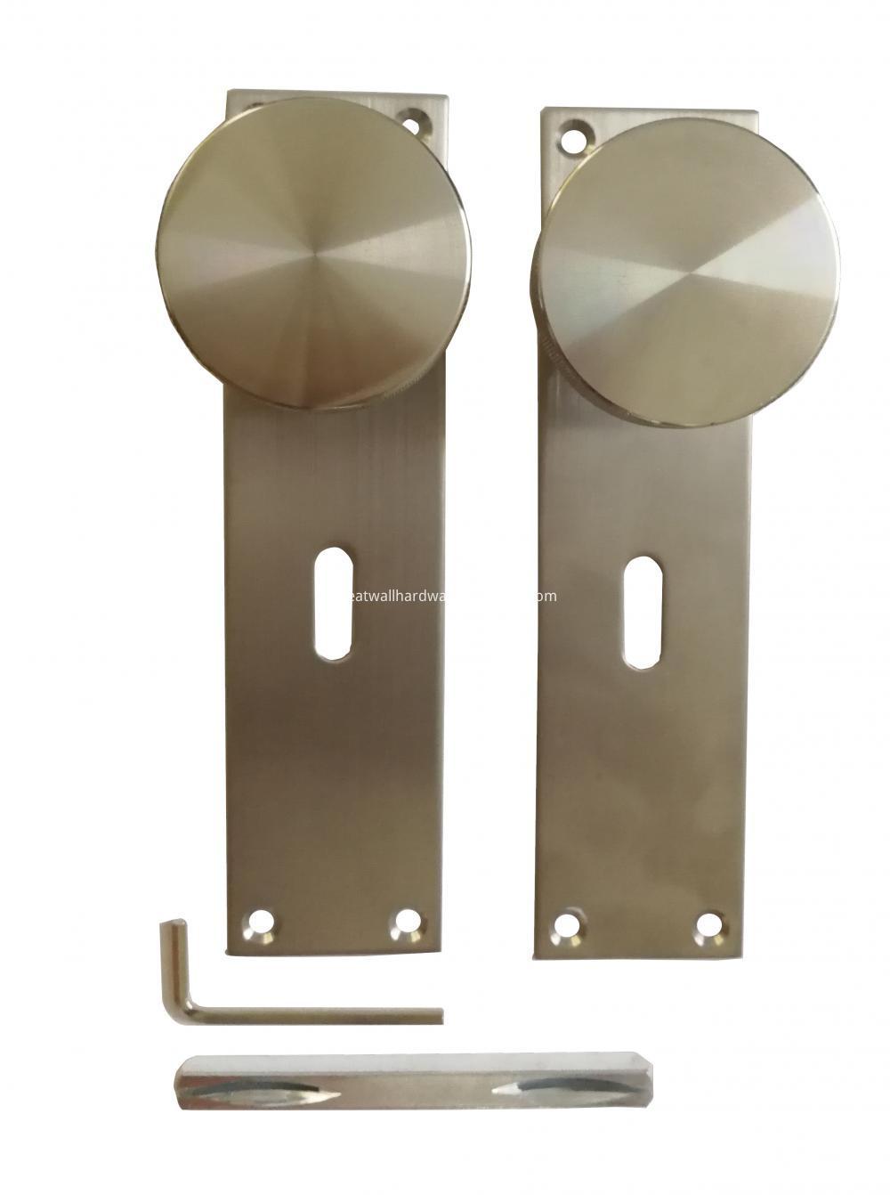 Bathroom Door Knobs On Plate
