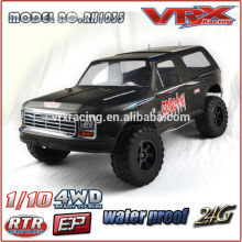 VRX Racing new design 1/10th 4WD electric car, Coyote of brushed version