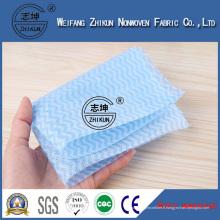 Tissu non-tissé non-tissé de Spunlace bien emballé de lingettes