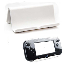 Portable Skid Proof Console Clip Mount Vertical Stand for Nintendo Wii U Gamepad bracket