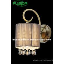 Lampe murale en tissu en ligne de nouvelle conception 2014 (8163 / 1W0