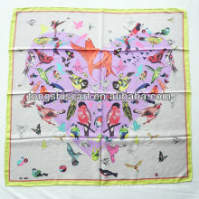 SB080-001 fashion wholesale new twill silk scarf