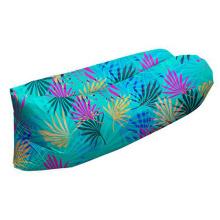 Sac de couchage gonflable de sofa d'air de pliage extérieur d'air de salon portatif