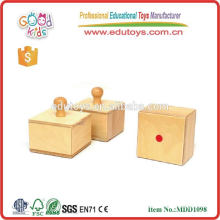 sensory training hearing montessori equipment preschool educational toys