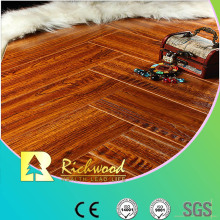 Commercial 8.3mm Embossed Walnut Sound Absorbing Laminte Floor