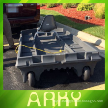 OEM rotational moulded plastic boat