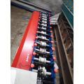 Kalte Metallrollladen-Türrahmenrolle, die Maschine bildet