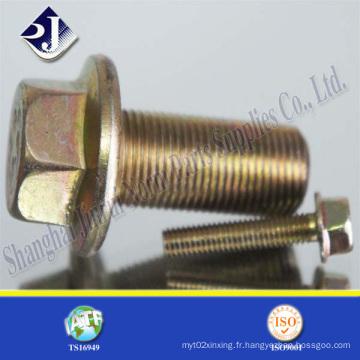 Boulon à bride en acier allié pour automobile (IFI-111)