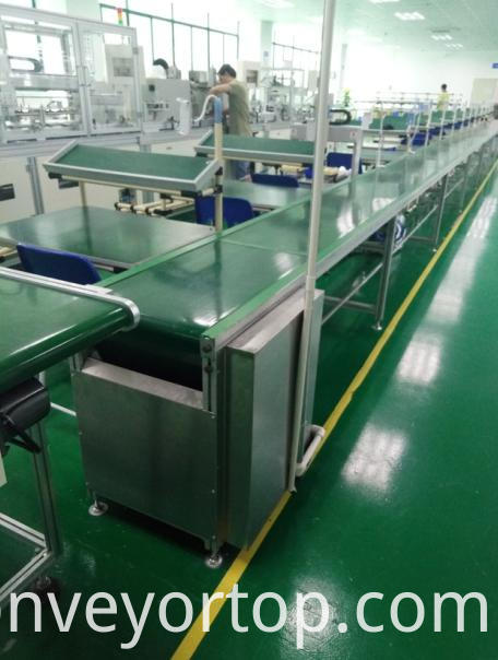 Independent Work Table Belt Conveyors