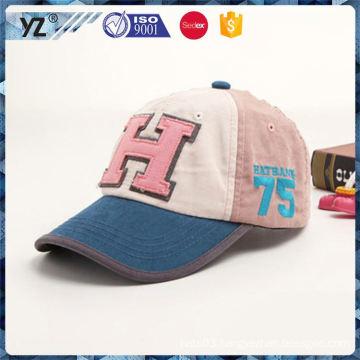 Hot promotion novel design baseball cap material from manufacturer