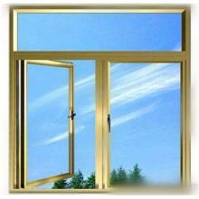 Fenêtre à battant en aluminium vers l'extérieur