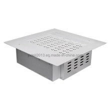IP66 110lm / W os dispositivos elétricos claros do dossel do diodo emissor de luz de 100 watts substituem a iluminação do posto de gasolina 200W