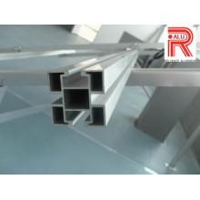 Perfiles de extrusión de aluminio / aluminio para soporte solar