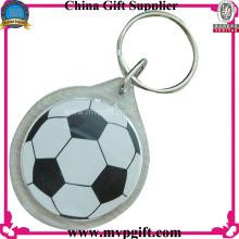 Акриловый брелок для футбольных подарков