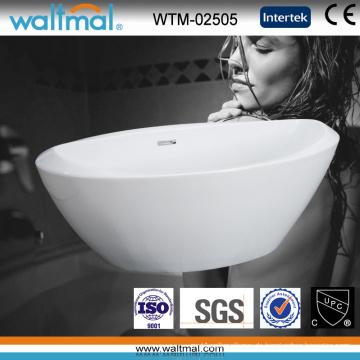 Badewanne mit spezieller Form, nahtlos weiß einweichend (WTM-02505)