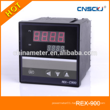 REX-C900 PID temperature display