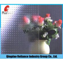 3mm / 3,5mm / 4mm / 4,5mm / 5mm / 5,5mm / 6mm klar Millenium Abbildung Glas / Millenium Patten Glas / klar Muster Glas / gute Quanlity Abbildung Glas
