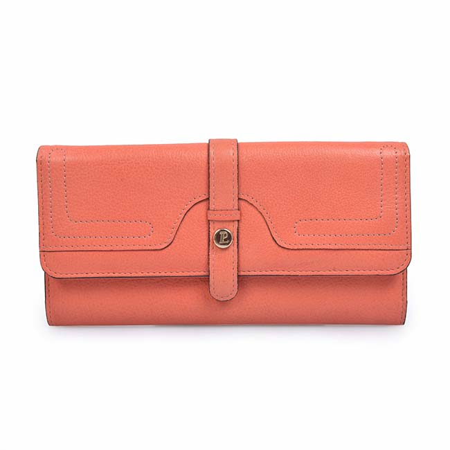 Fashionable Women ladies Crown Handbag Long Wallet Leather Purse