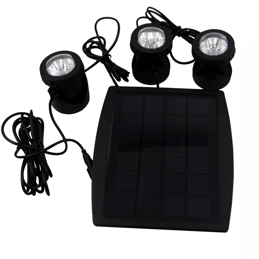RGB Solar underwater light