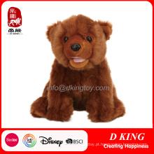 Brinquedos quentes dos animais de pelúcia do urso do luxuoso da venda