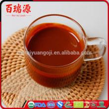 Vente chaude distributeur de jus de goji naturel goji baie goji poudre