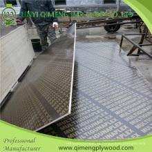 Una vez caliente presione la base de la película reciclada hizo frente a la madera contrachapada con precio bajo