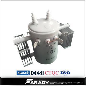 50 kva pólo completo de auto-proteção montado sobrecarga csp transformador