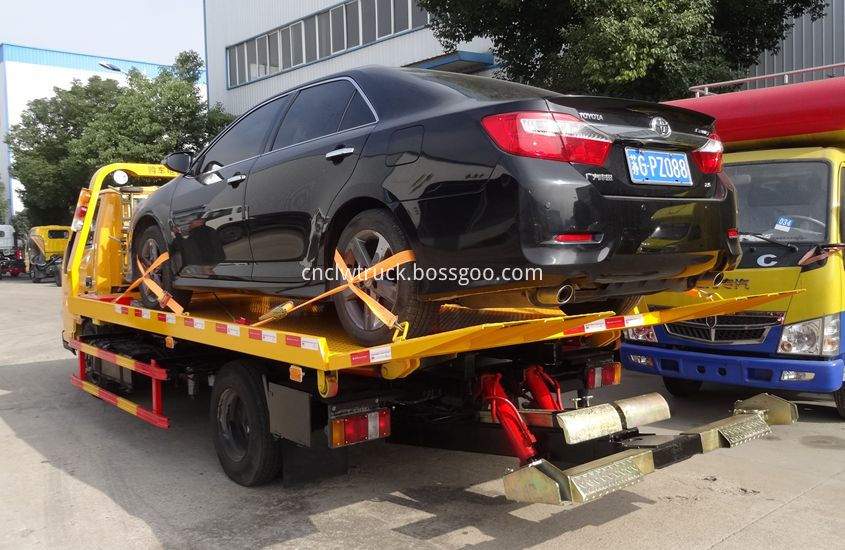 Motorcycle Towing vehicle 3