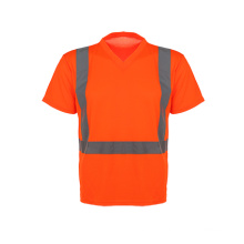 Short Sleeve High Visibility Safety T-Shirrt