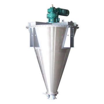 Conical Screw Mixer with Flat Flanged Cover