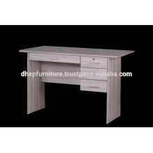 Holztisch mit Regal- und Schubladenschloss