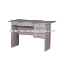 Wooden Office table with Shelf and Drawer Lock
