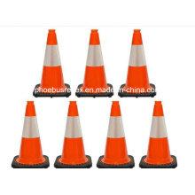 Tampa de Cone de tráfego reflexivo de segurança