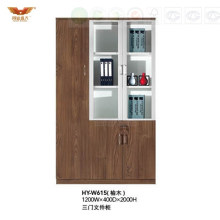 Modern Office Furniture Filing Cabinet with Glass Doors (HY-W615)