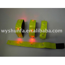 reflective slap wrap ,led slap wrap,safety armband