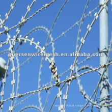 Galvanizado Iron Concertina Razor Wire Fence Fabricante