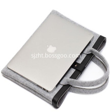 Custom high quality ladies handbag grey color