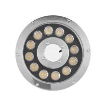 Anneau lumineux LED en acier inoxydable IP68 12W étanche