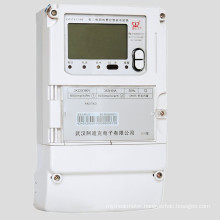 Three Phase Fee Charged Smart Energy Meter with Carrier Communication