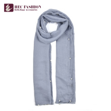 HEC Promotional Custom Printing High Quality Women Scarf Long Shawl