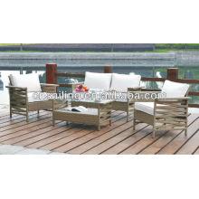 Все погоду Wicker Высококачественный ротанг-диван Секционная мебель