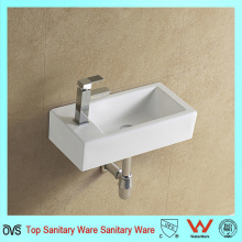 Rectangular Wall Mounted Narrow Sink
