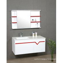 Cabinet de salle de bains avec miroir LED (P37)