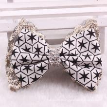 Fashion Star Crystal Bowknot Hair Clip Bow