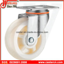 4 Inch Medium Duty Swivel White PP Caster