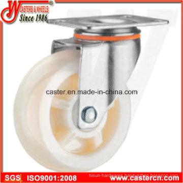4 Inch Medium Duty Swivel White PP Caster