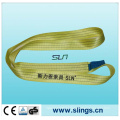 3tx1m Yellow Polyester Webbing Sling Safety Factor 7: 1